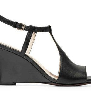 Cole Haan Wedges Size 8.5 Black Retail for $117
